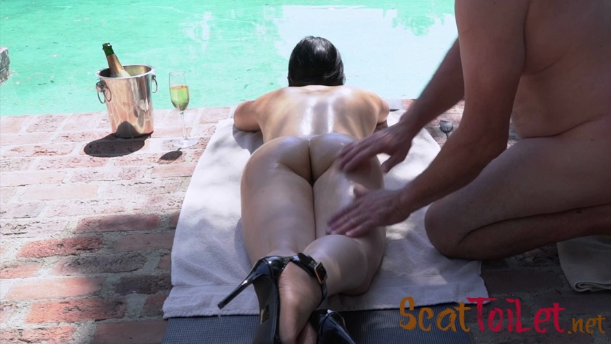 Huge Poolside Dump with Mistress Sophia [MPEG-4]