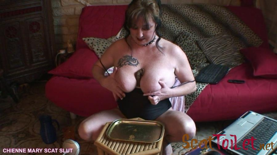 Chienne Mary French Scat Slut - Webcam Scat Show [mp4]