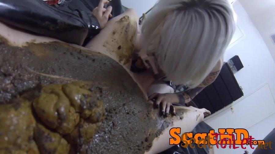 Jessica - Fucked DEEP  HARD Covered Poop After Catching a Voyeur! [mp4]