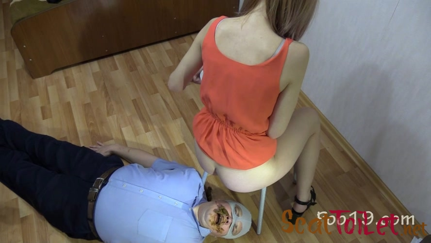 Mr small dick! Female shit eater with MilanaSmelly  [MPEG-4]