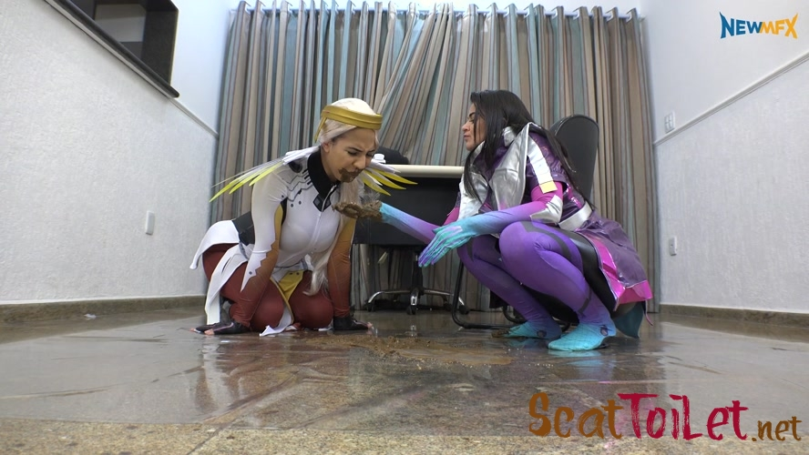 Kinky Scat Nun with evamarie88  [MPEG-4]