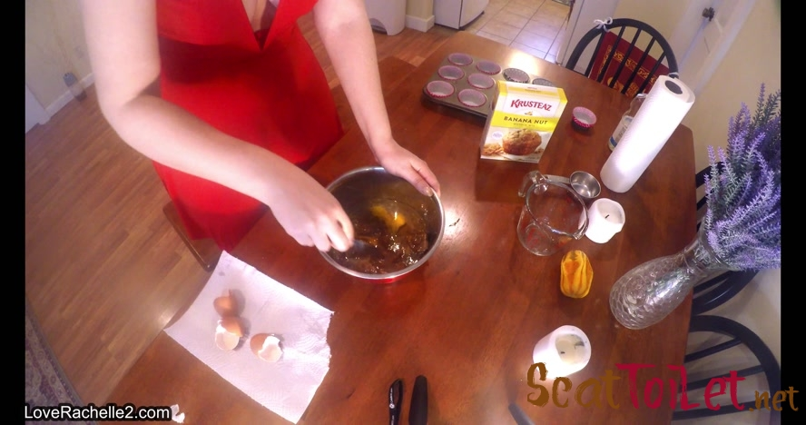 Slave Deserves A Treat! Baking Poop Muffins with LoveRachelle2 [MPEG-4]