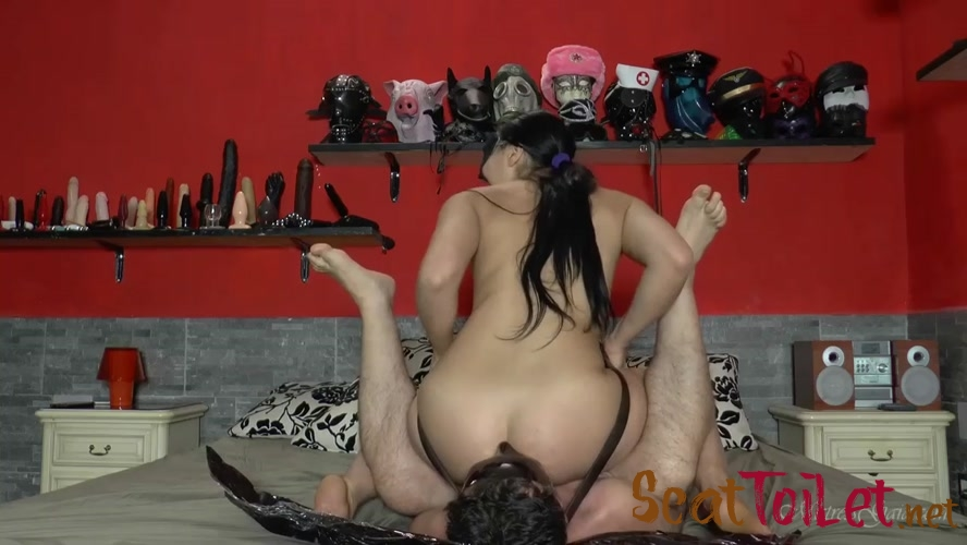 Ass smothered in scat with Mistress Gaia [MPEG-4]