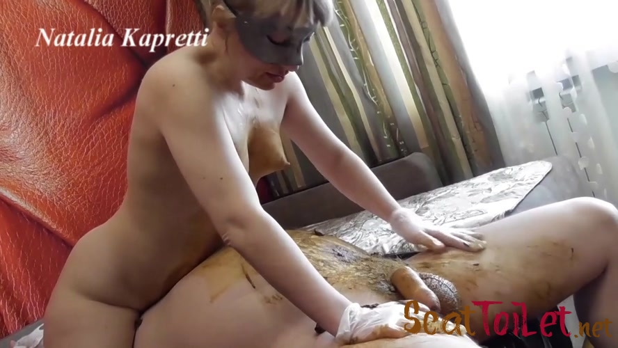 Swallow cum with shit my dirty slut with Mistress  [MPEG-4]