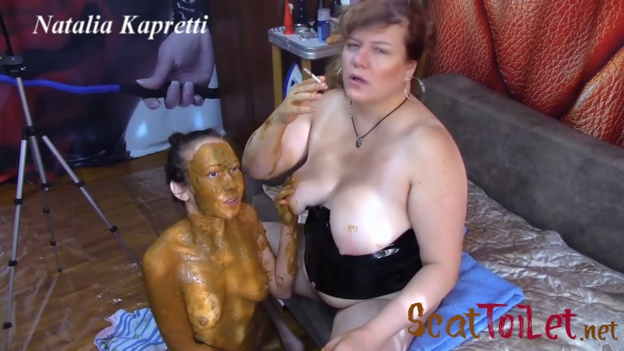 She covered in shit, she my toilet with Mistress  [MPEG-4]